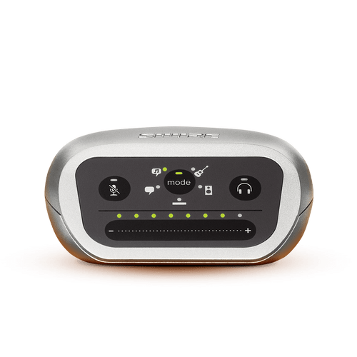Interface de Áudio Digital Shure MVi M...
