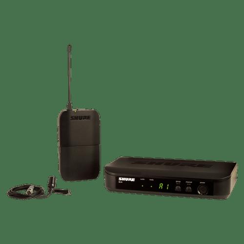 Microfone de Lapela Sem Fio Shure BLX14/CVL BLX14BR/CVL-M15