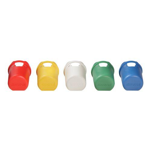 5 Capas coloridas para identificação dos transmissores de mão Axient® Digital WA617M