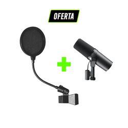 Kit-Podcast-e-Radio-com-Microfone-SM7B-Shure---Pop-Filter_01_OFERTA