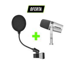 Kit-Podcast-e-Radio-com-Microfone-MV7-Shure---Pop-Filter_01_OFERTA