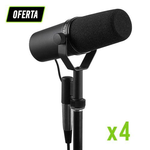 Kit-Podcast-e-Radio-com-4-Microfone-SM7B-Shure_01